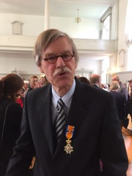 Mr. Dick Wijte - Officier in de Orde van Oranje Nassau