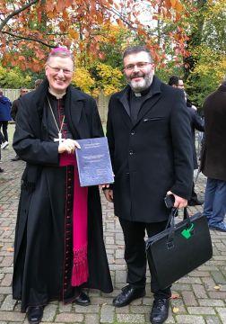 Proefschrift pastoor Samuel Marcantognini gereed