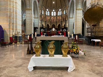 Chrismamis in de kathedraal